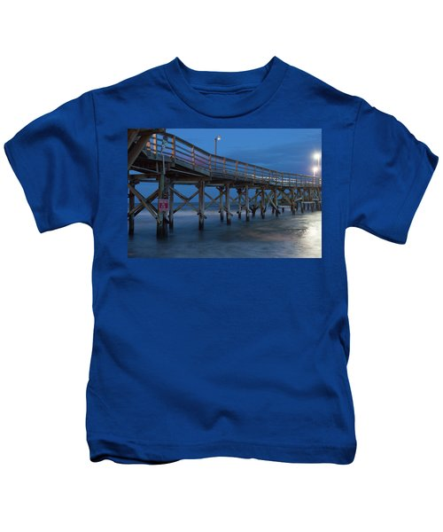 Evening Pier Kids T-Shirt