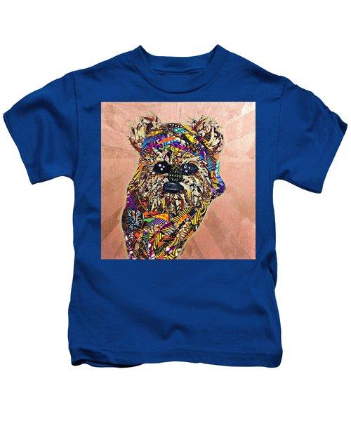 Ewok Star Wars Afrofuturist Collection Kids T-Shirt