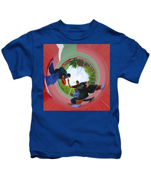Extreme Pick Up Basketball Kids T-Shirt