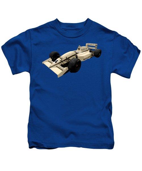 F1 B Racer Art Kids T-Shirt