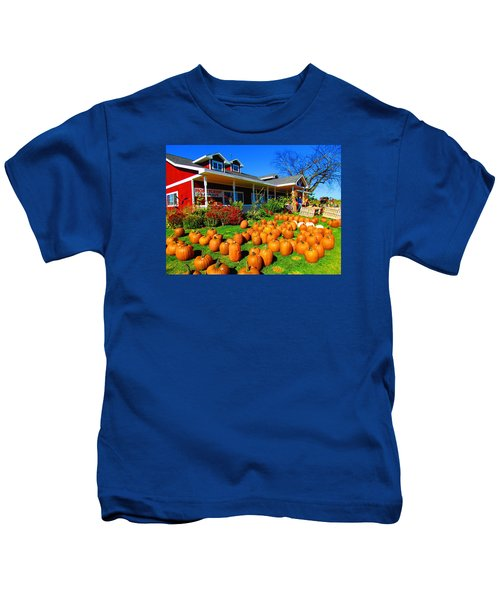 Fall Market Kids T-Shirt