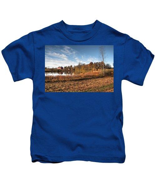 Farm Fall Colors Kids T-Shirt