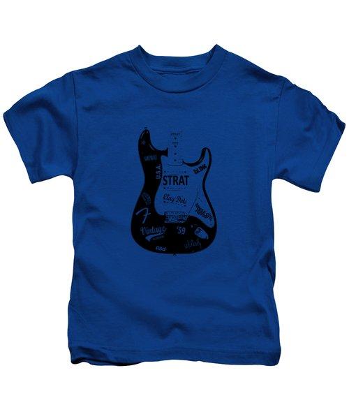 Fender Stratocaster 59 Kids T-Shirt