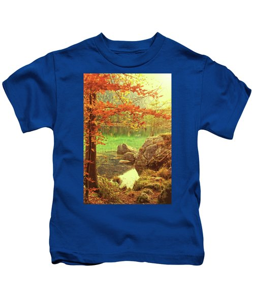 Fire And Water Kids T-Shirt