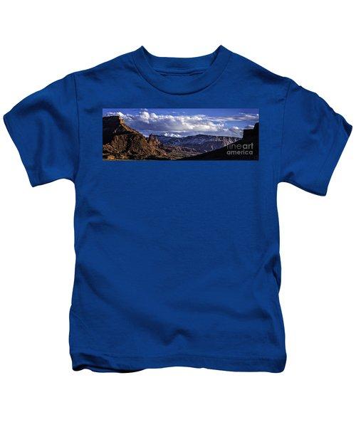Fisher Towers Kids T-Shirt