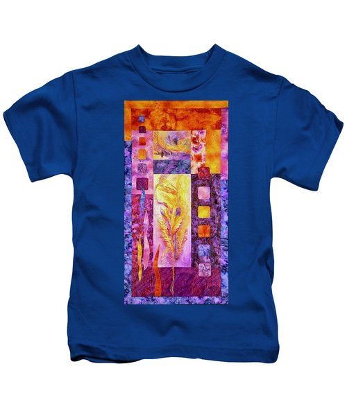 Flaming Feathers Kids T-Shirt