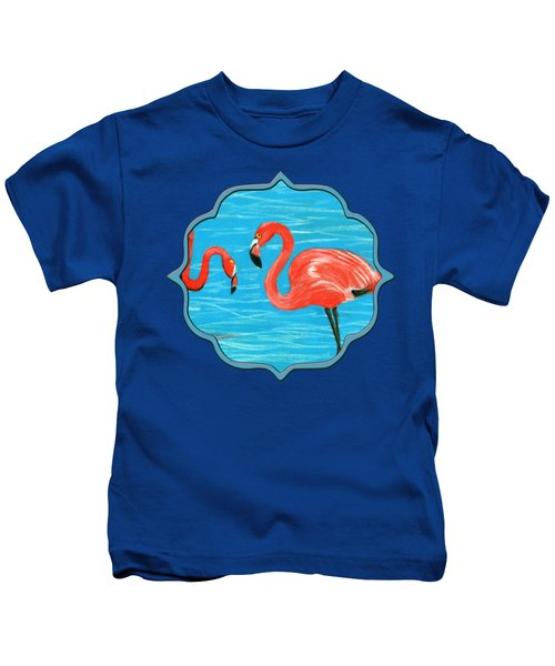 Flamingos Kids T-Shirt