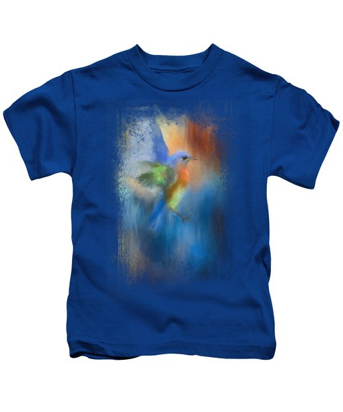 Flight Of Fancy Kids T-Shirt by Jai Johnson