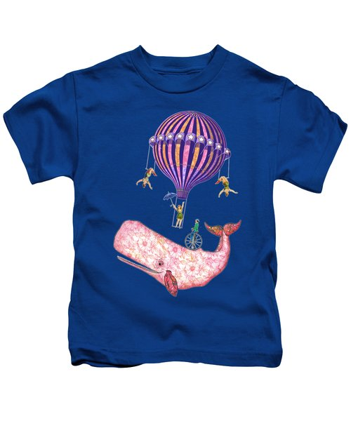 Flying Whale Circus Kids T-Shirt