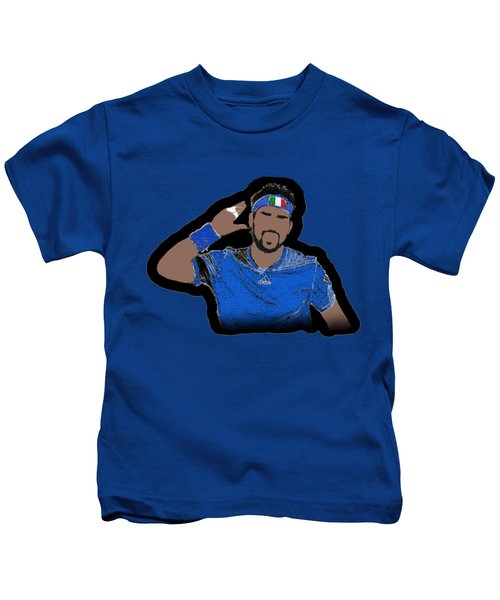 Fognini Kids T-Shirt by Pillo Wsoisi