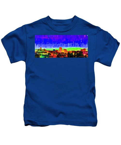 Fresno Skyline 102 - Da Kids T-Shirt