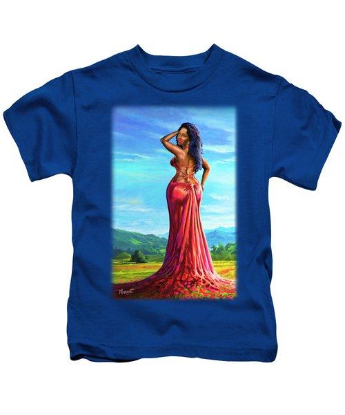 Summer Blossom Kids T-Shirt