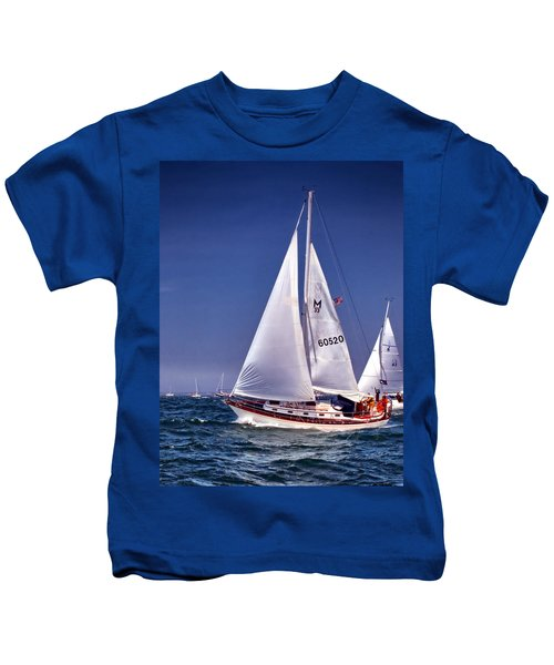 Full Sail Ahead Kids T-Shirt