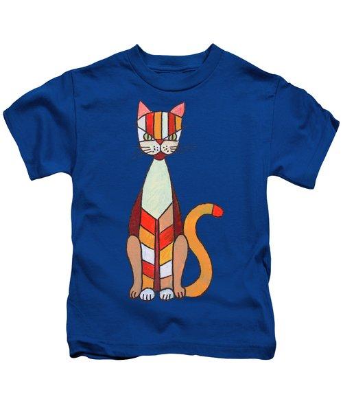 Funny Cat Kids T-Shirt