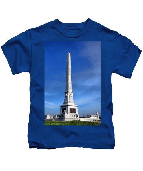 Gettysburg National Park United States Army Regulars Memorial Kids T-Shirt