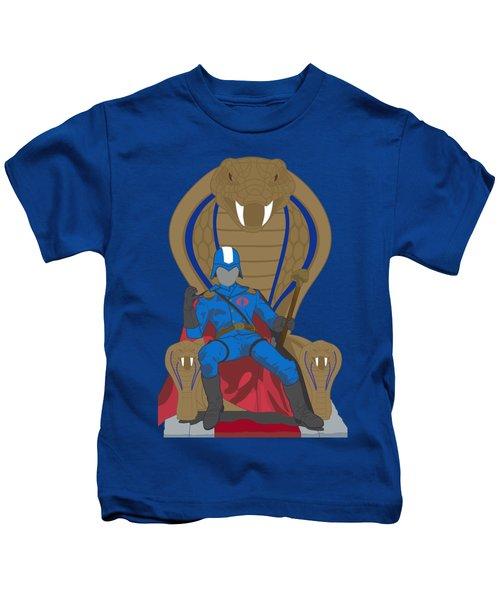 Gi Joe - Cobra Commander Kids T-Shirt