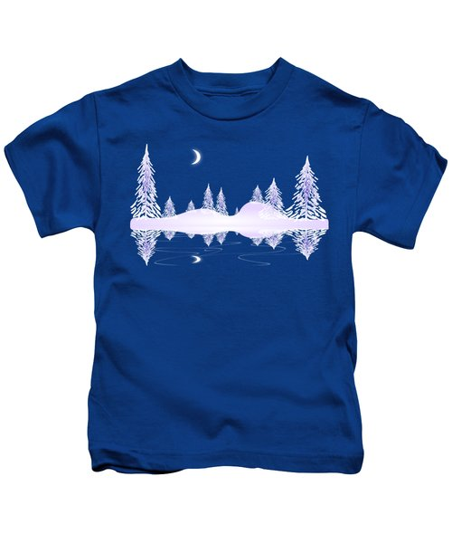 Glass Winter Kids T-Shirt