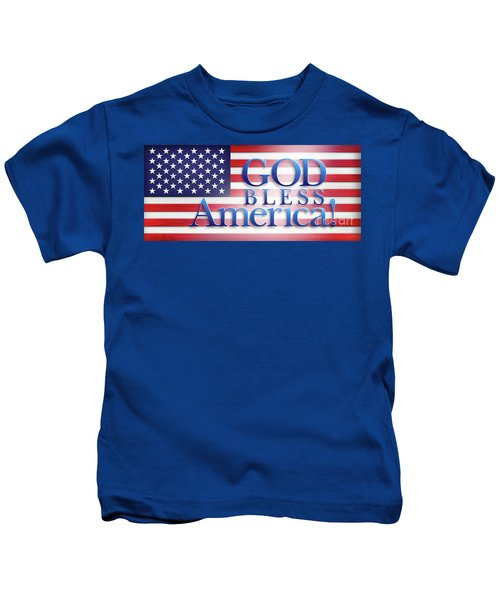 God Bless America Kids T-Shirt