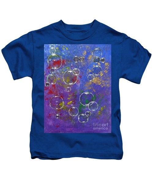 Graffiti Bubbles Kids T-Shirt