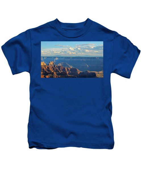 Grand Canyon North Rim Sunset San Francisco Peaks Kids T-Shirt