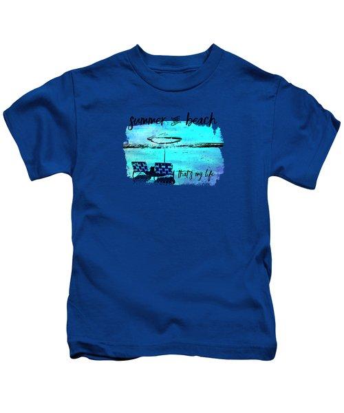 Graphic Art Summer And Beach Kids T-Shirt