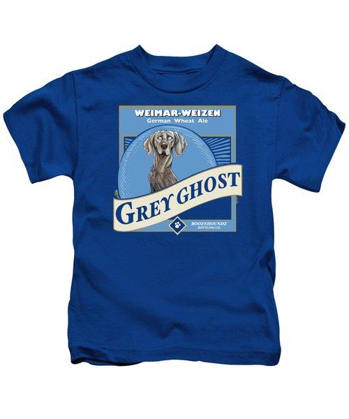 Grey Ghost Weimar-weizen Wheat Ale Kids T-Shirt
