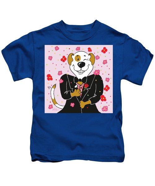 Groom Dog Kids T-Shirt