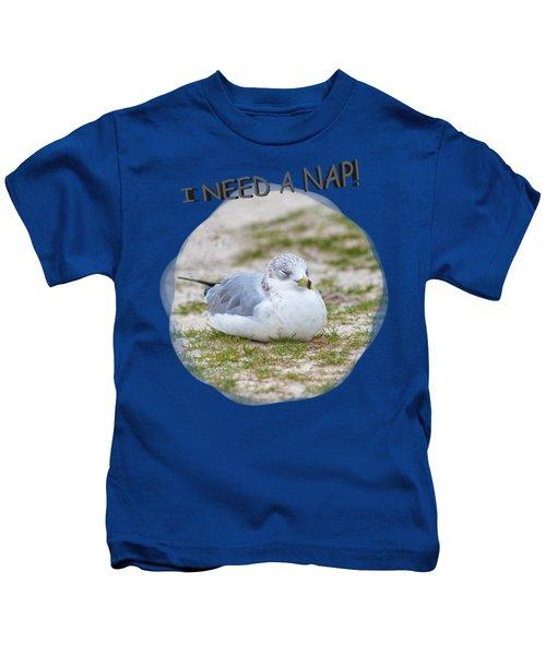 Gull Nap Time Kids T-Shirt