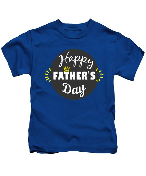 Happy Father's Day Kids T-Shirt
