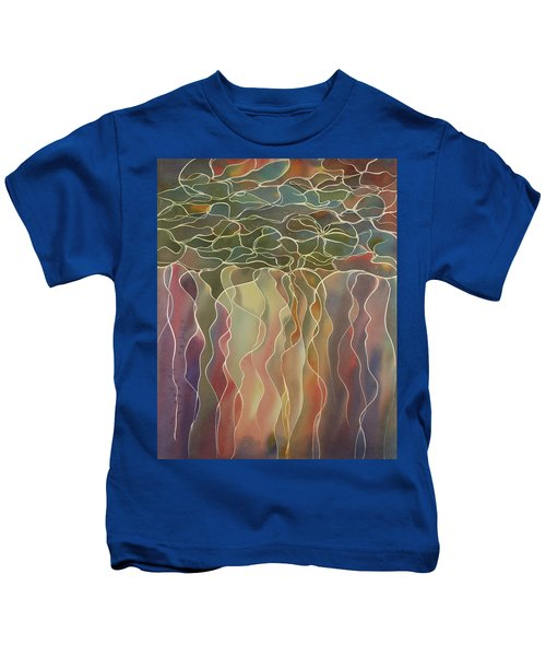Harlequin Water Lillies Kids T-Shirt