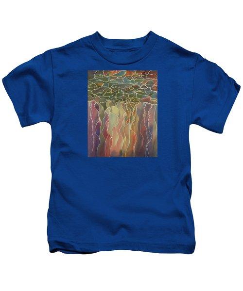 Harlequin Water Lillies Kids T-Shirt
