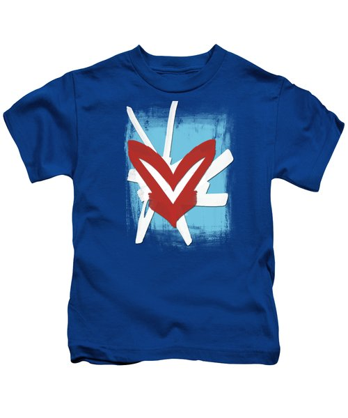 Hearts Graphic 4 Kids T-Shirt