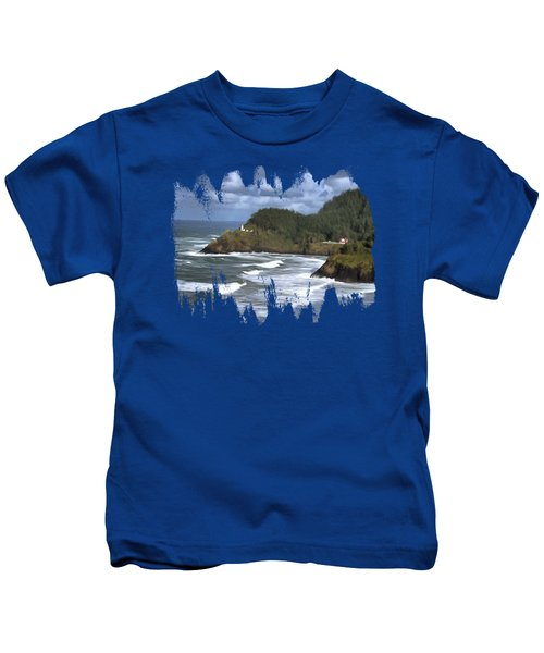 Heceta Head Lighthouse Kids T-Shirt