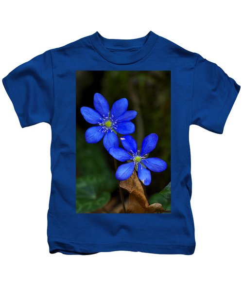 Hepatica Nobilis Kids T-Shirt