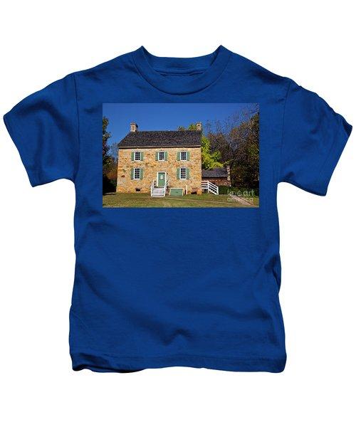 Hezekiah Alexander Homesite Kids T-Shirt