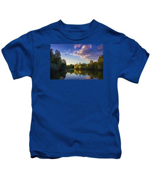 Hidden Light Kids T-Shirt by Marvin Spates