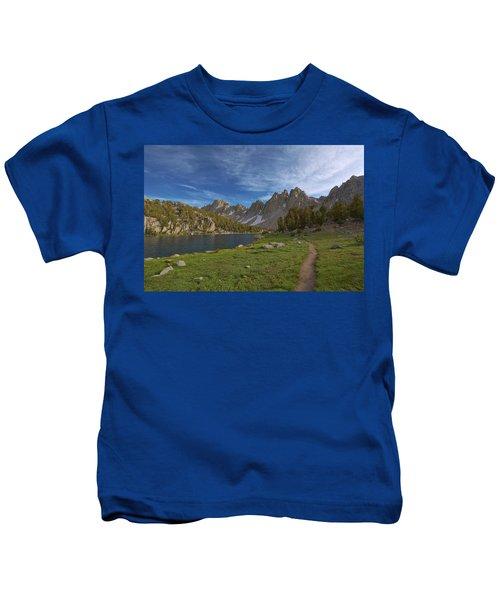 Hiking Kearsarge Kids T-Shirt