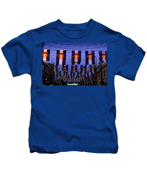 Historic Larimer Square Denver Kids T-Shirt