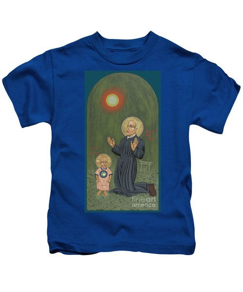 Holy Father Pedro Arrupe, Sj In Hiroshima With The Christ Child 293 Kids T-Shirt