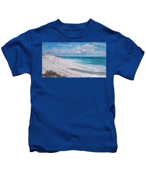 Hope Town Beach Kids T-Shirt