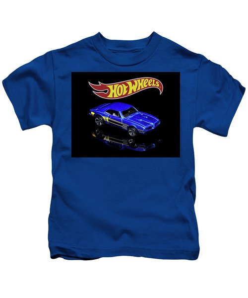 Hot Wheels '67 Pontiac Firebird 400-2 Kids T-Shirt