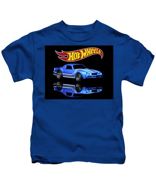 Hot Wheels Gm Camaro Z28 Kids T-Shirt