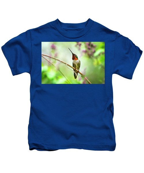 Hummingbird Looking For Love Kids T-Shirt