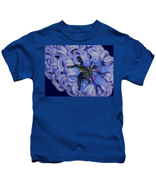 Hyacinth Curls Kids T-Shirt