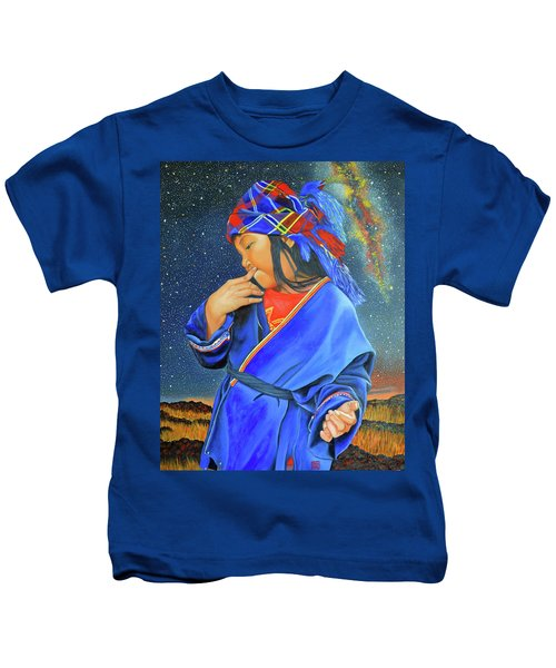 I Want To Put A Ding In The Universe Kids T-Shirt