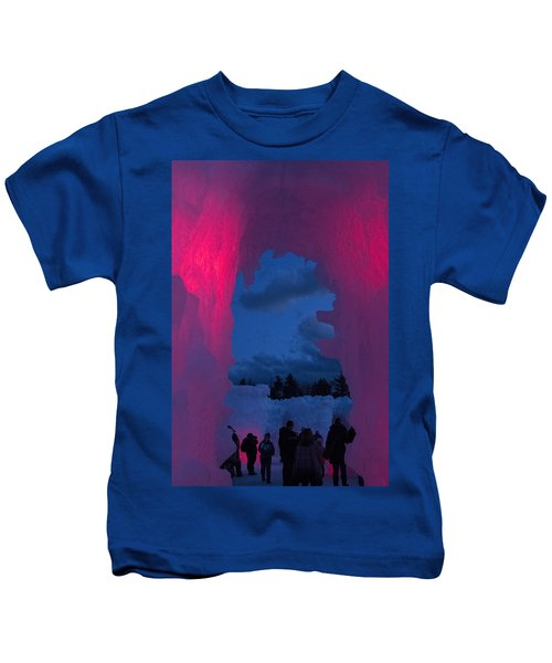 Ice And Colors  Kids T-Shirt