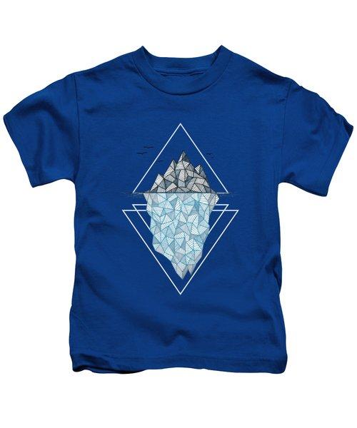Iceberg Kids T-Shirt by Barlena