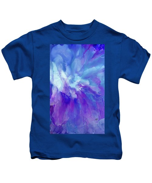 Icy Bloom Kids T-Shirt