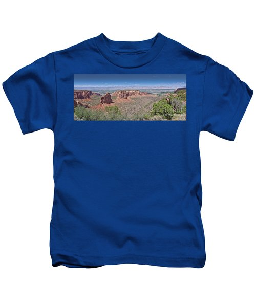 Independence Pano Kids T-Shirt
