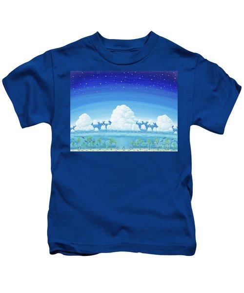 Islands Of Impermanence Kids T-Shirt